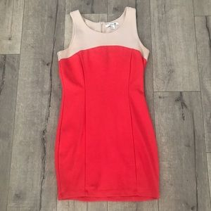 F21 color block dress. Size large.